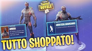 I SHOPPED EVERYTHING! New Skins and New Dances! LET'S SEE TOGETHER! Fortnite Battle Royale ITA!