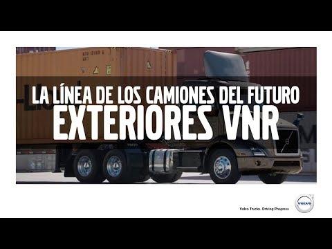 La Línea de los Camiones del Futuro - Exteriores VNR