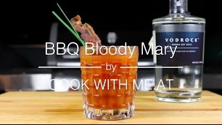 BBQ Bloody Mary - Vodrock Grill Challenge - COOK WITH ME.AT
