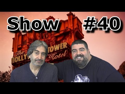 BIG FAT PANDA SHOW #40 with Guest Mark Silverman - Voice of Tower of Terror - Oct 30, 2016