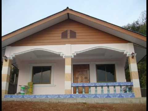 Building wee house northern thailand youtube for Small house design thailand