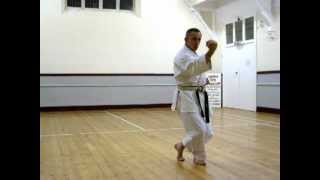 Heian Yondan - SLOW (Shotokan Karate Kata)