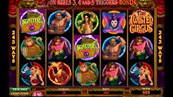 Twisted Circus Slot by Microgaming - Casinos-Online-888.com