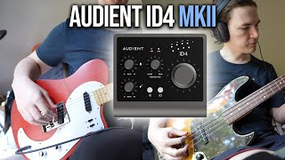 Audient iD4 MkII | Guitar and Bass Recording on M1 MacBook Air