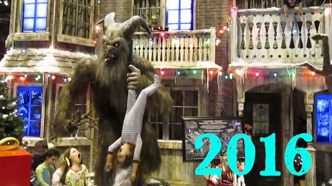 Krampus Christmas Scene At 2016 Transworld Haa Show Youtube
