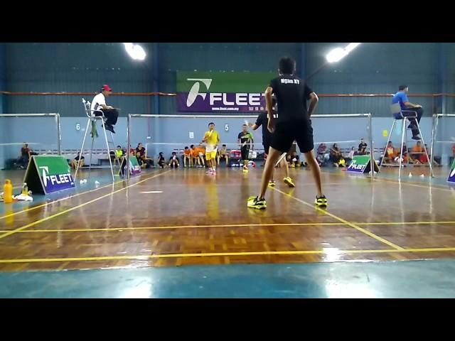 Alex Ho/Ngan xie ying Batu pahat vs yong peng.     Yong peng badminton championship 2017