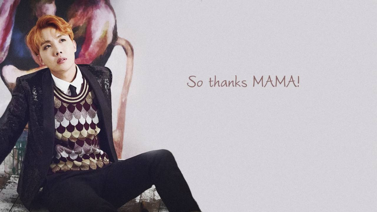 BTS – MAMA LYRICS (English & Romanized) | KV