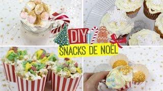 DIY Snacks de NOËL ULTRA FACILES !