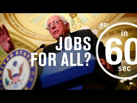 Guaranteed jobs for all Americans? | IN 60 SECONDS
