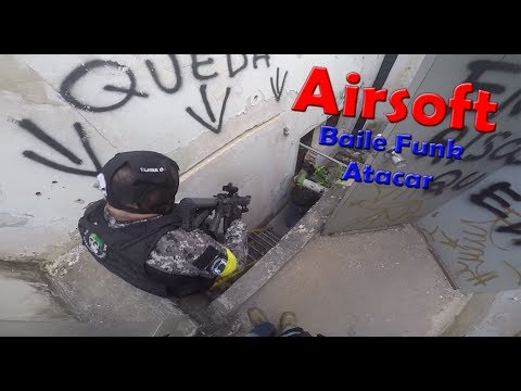 GAMEPLAY - BAILE FUNK ATAQUE - HOSPITAL DO MEDO 31052018   ALEMÃO AIRSOFT