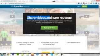 Make Money Online with Dailymotion Publisher In Urdu & Hindi Tutorial