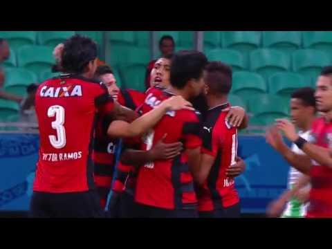 Vitória 2 x 1 América MG - Gols de Marcelo e David - 28/8/2016