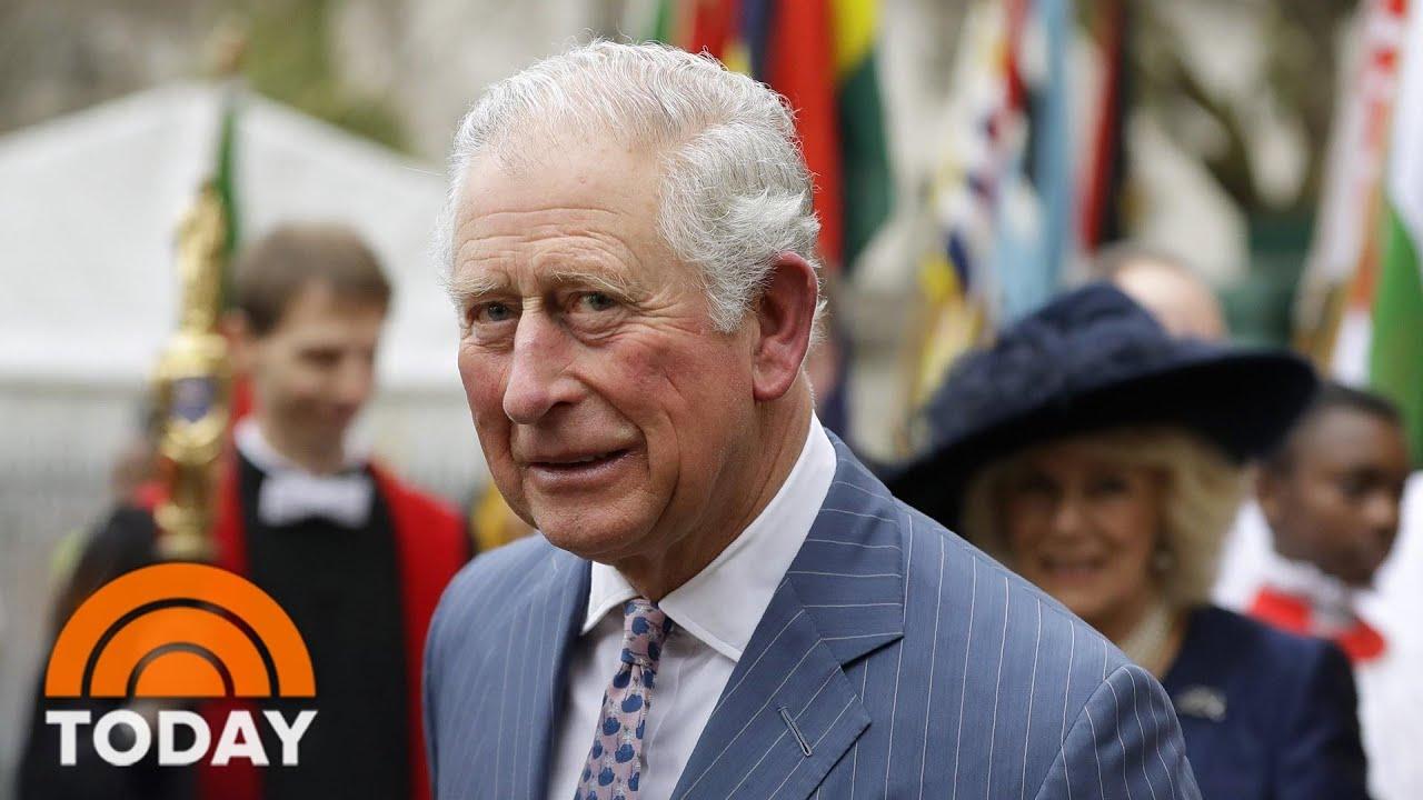 Prince Charles Tests Positive For Coronavirus | TODAY