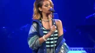 Rihanna - Stay, Gdynia Poland 7.07.2013 Heineken Open'er Festival
