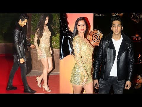 Shahrukh Khan's Daughter Suhana CAUGHT With Chunky Pandey's Nephew Ahaan Pandey At Haloween Party