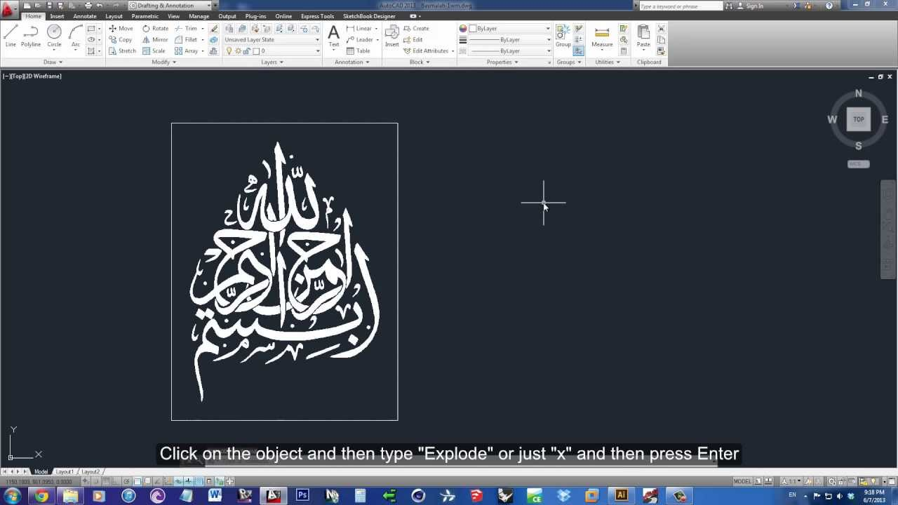 Photo To Line Art Converter Online : How to transform an image into lines autocad using