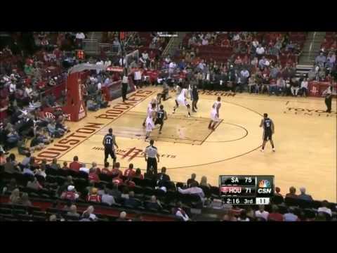 Eddy Curry - Spurs vs Rockets Preseason