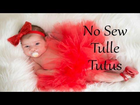 No Sew Tulle Tutu