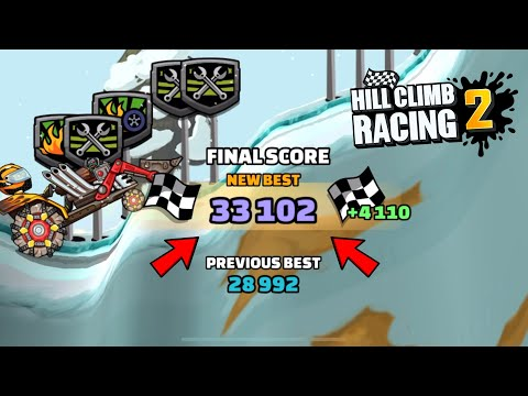 Hill Climb Racing 2 - 33102 Points In SALT AND TEARS Team Event