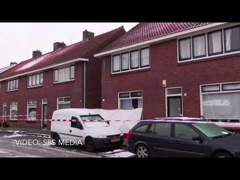 Lichaam aangetroffen in gang tussen twee woningen in Enschede; politie gaat uit van een misdrijf