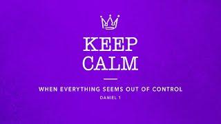 God Is In Control  Daniel 1 - Pastor Mark Brown