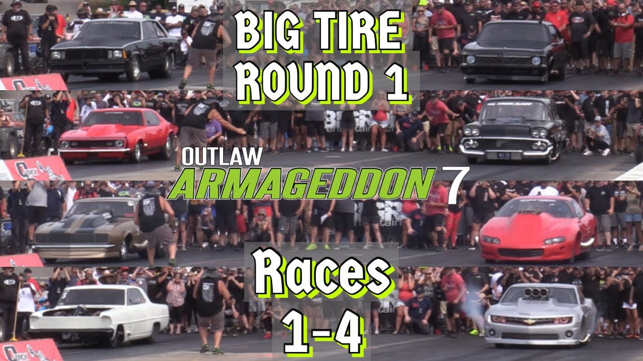 Download Outlaw Armageddon 7 - Big Tire: Round 1, Races 1-4