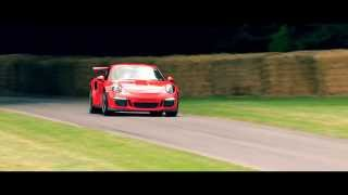 The new Porsche 911 GT3 RS at Goodwood Festival of Speed 2015