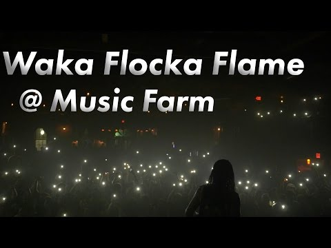 Waka Flocka Flame @ The Music Farm Charleston, SC