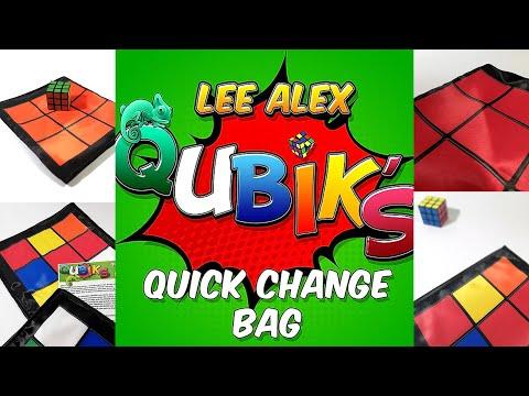 Qubik's Quick Change Bag by Lee Alex video