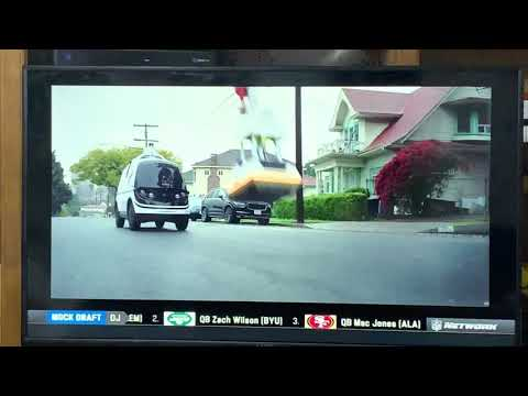 Dominoe's Pizza Driverless Vehicle Robots Take Jobs Once Done By You In America