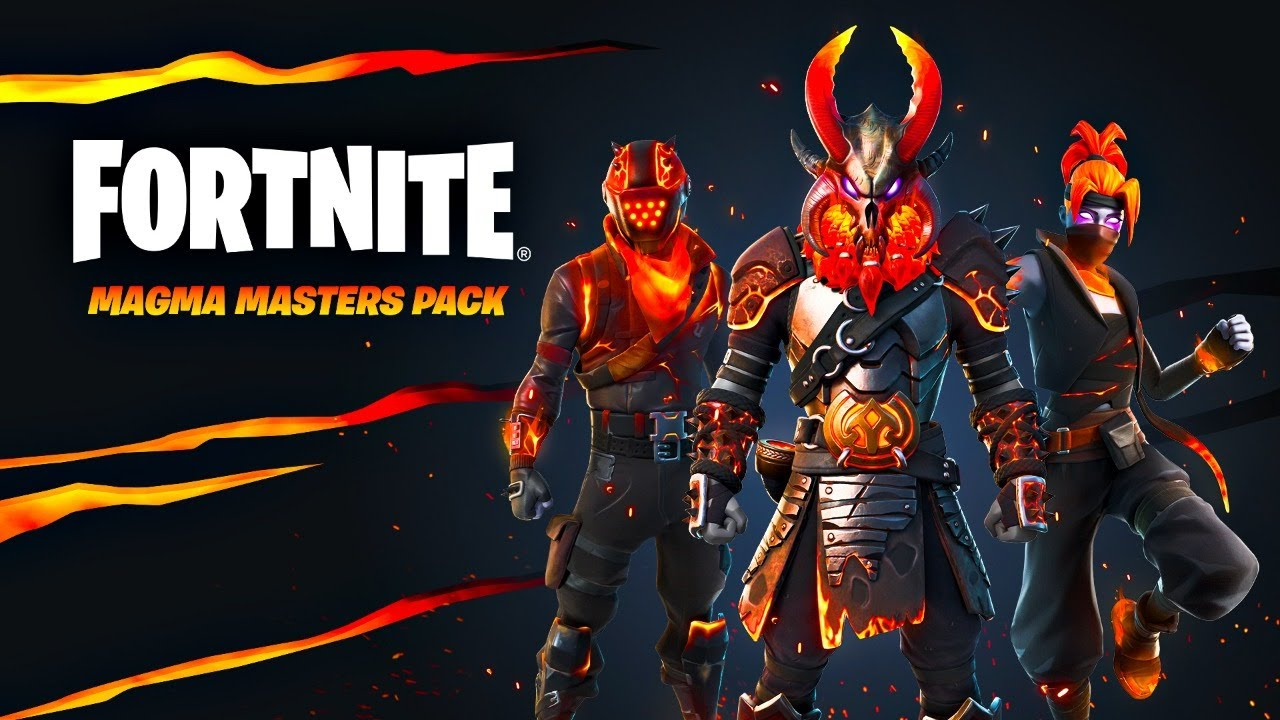 Download New MAGMA MASTERS Pack! Winning in Solos! (Fortnite)