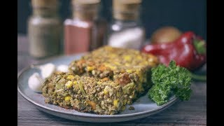Delicious Vegan Lentil Loaf | High Protein Recipe
