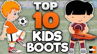 Best Boots for Kids! Top 10 Soccer Cleats for Children