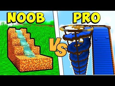SCIVOLO NOOB CONTRO SCIVOLO PRO - Minecraft ITA