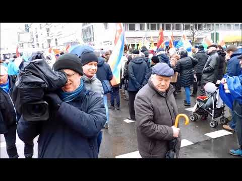 Berliner Ostermarsch 2018 - Abrüsten statt Aufrüsten (antikriegTV)