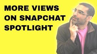 SnapChat Spotlight ZERO Views? TRY THIS!