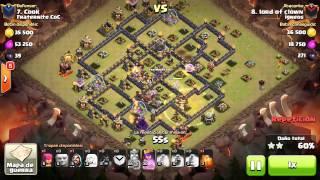 [Clash of Clans] QWCbHog | TH9 | 3stars #043