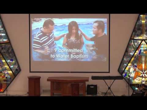 Pastor Eric Mauricio WALK ON WATER Bahrain Christian Fellowship November 13 2015
