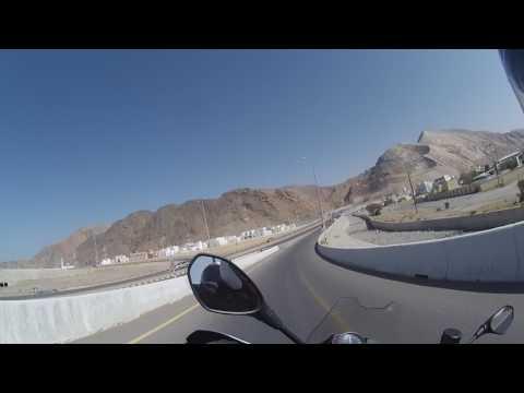 Muscat to Al Amerat  BMW F800 GS  Paul Murley