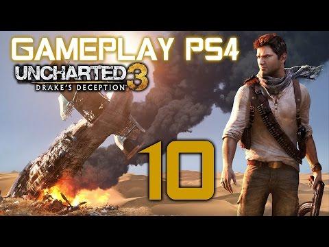 Uncharted 3: La traición de Drake Gameplay PS4 en español #10