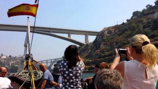 мосты города Порто, Португалия. Август 2013