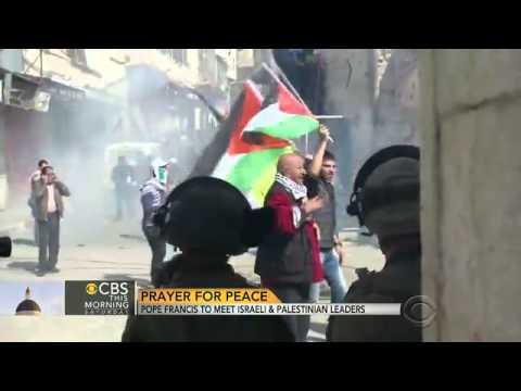 Pope Francis to meet Israeli, Palestinian leaders