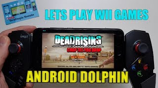 Playing Dead Rising: Chop Till You Drop on Android Smartphone Wii Games for Dolphin GC/Wii Emulator