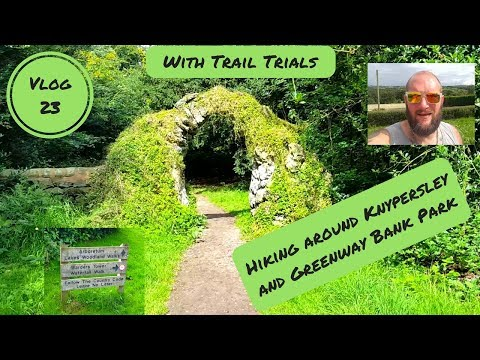 Hiking Knypersley Reservoir And Greenway Bank Park - The Warder Tower, Waterfall Walk & Gawton Well