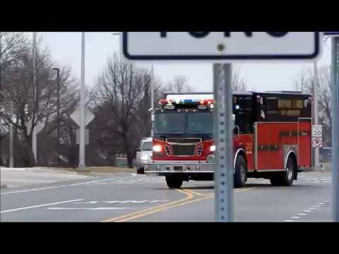 Hoffman Estates IL Fire Department Squad Co. 22 Responding