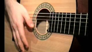 Указательный палец вниз - Уроки игры на гитаре