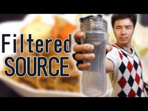 世界初透明ソース焼きそばを作る!! OKO filter YAKISOBA