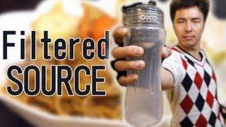 世界初透明ソース焼きそばを作る!!|OKO filter YAKISOBA