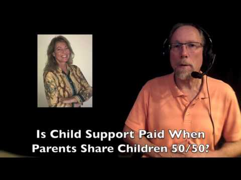 Is Child Support Paid When Parents Share Kids 50/50?