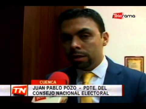 Pleno del CNE sesiona en Cuenca